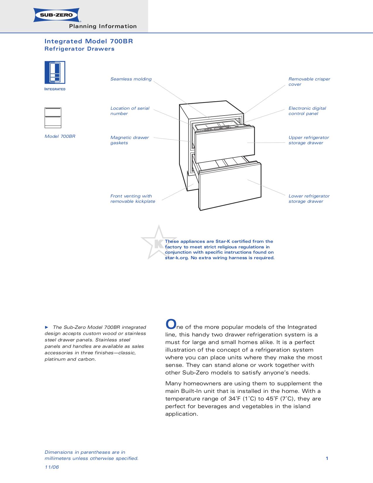 Pdf Manual For Wolf Refrigerator Sub Manual Guide