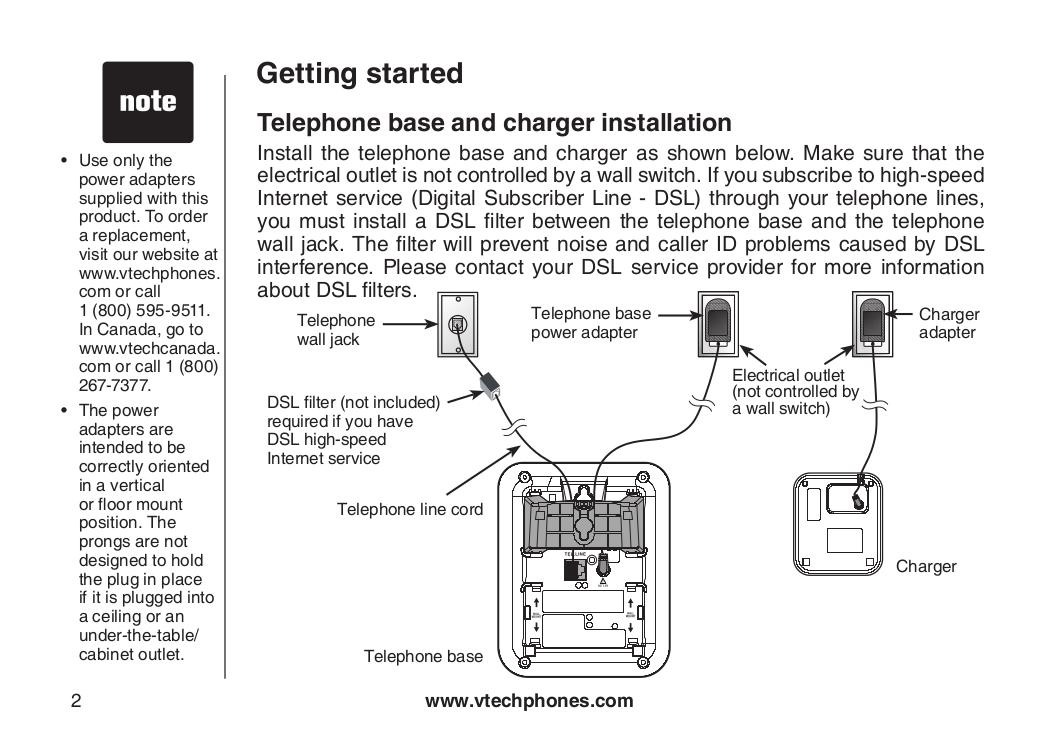 pdf manual for vtech telephone cs5113 rh umlib com VTech Telephone Number VTech Wireless Telephones