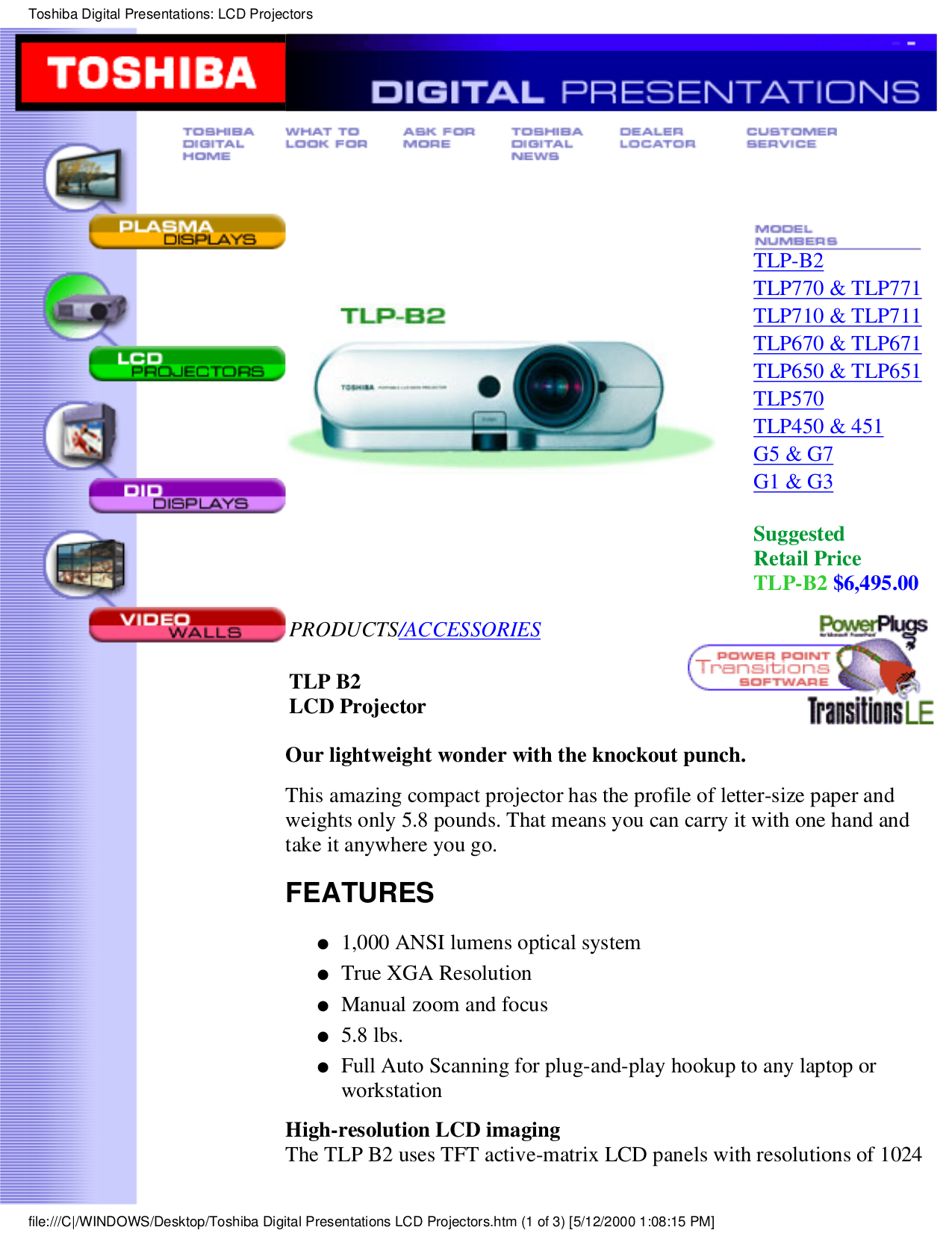 Toshiba G3 Manual G7 Asd Wiring Diagram 1 Of 7only 3 Available Array Download Free Pdf For Tlp 770 Projector Rh Umlib Com