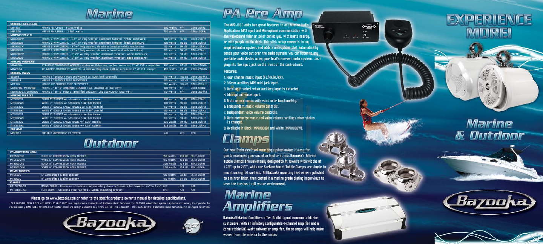 Download Free Pdf For Bazooka Mbt1014 Subwoofer Manual