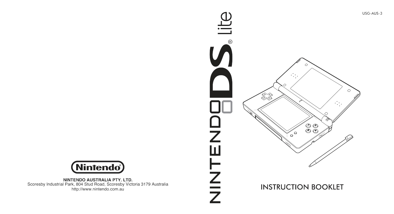 download free pdf for nintendo ds lite game console manual rh umlib com nintendo ds lite manual pdf download nintendo ds lite manual pdf