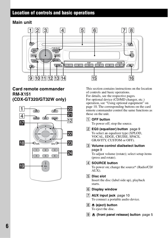 Sony Cdx Gt120 Wiring Diagram Diagrams Xplod Car Stereo Manual Pdf For Receiver Rh Umlib Com Gt350mp
