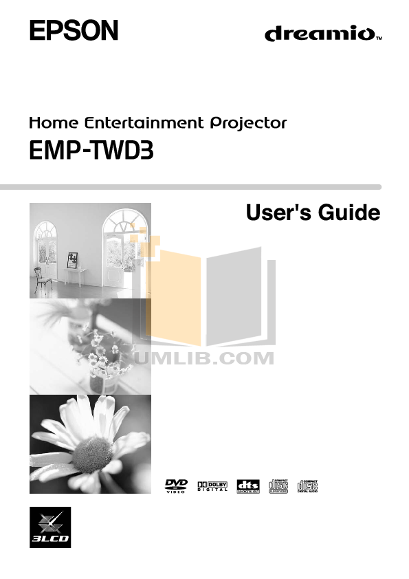 pdf for Epson Projector EMP-811 manual