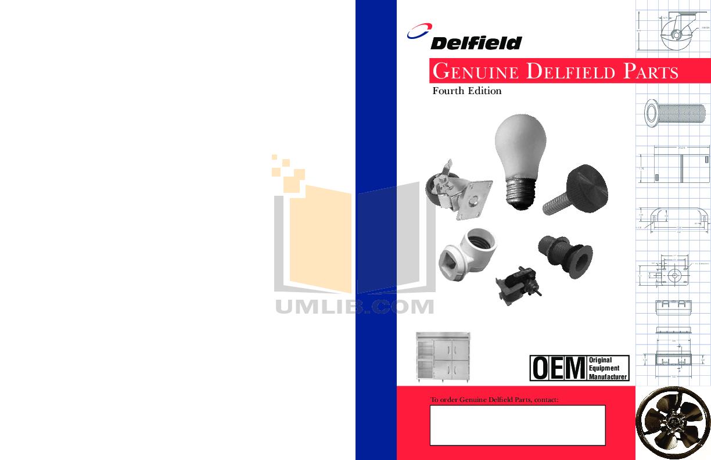 pdf for Delfield Refrigerator NLFAC-12 manual