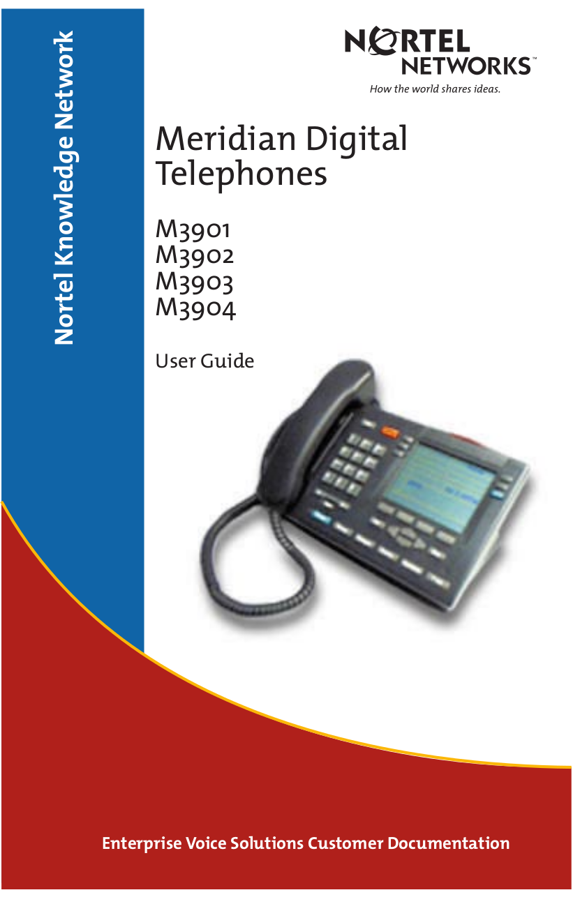 Nortel phone manual: how to use the do not disturb function on.