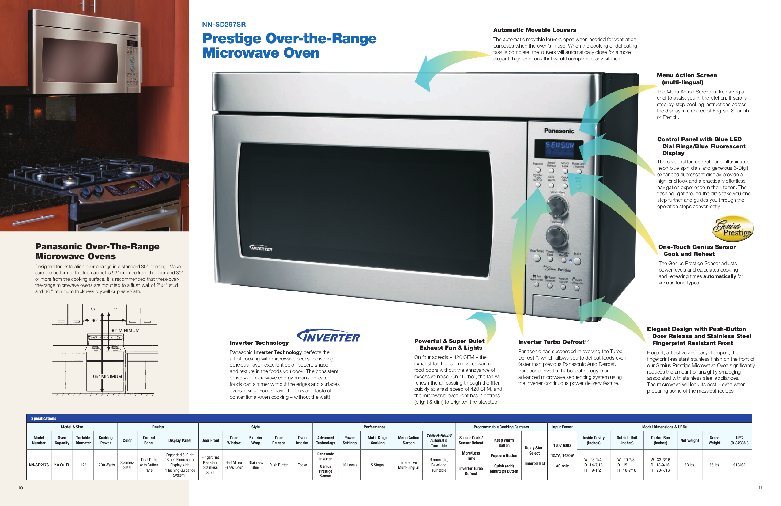 how to use panasonic microwave nn-st253w
