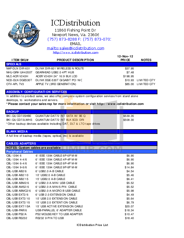 Coolmax Storage HD-389-U2 pdf page preview