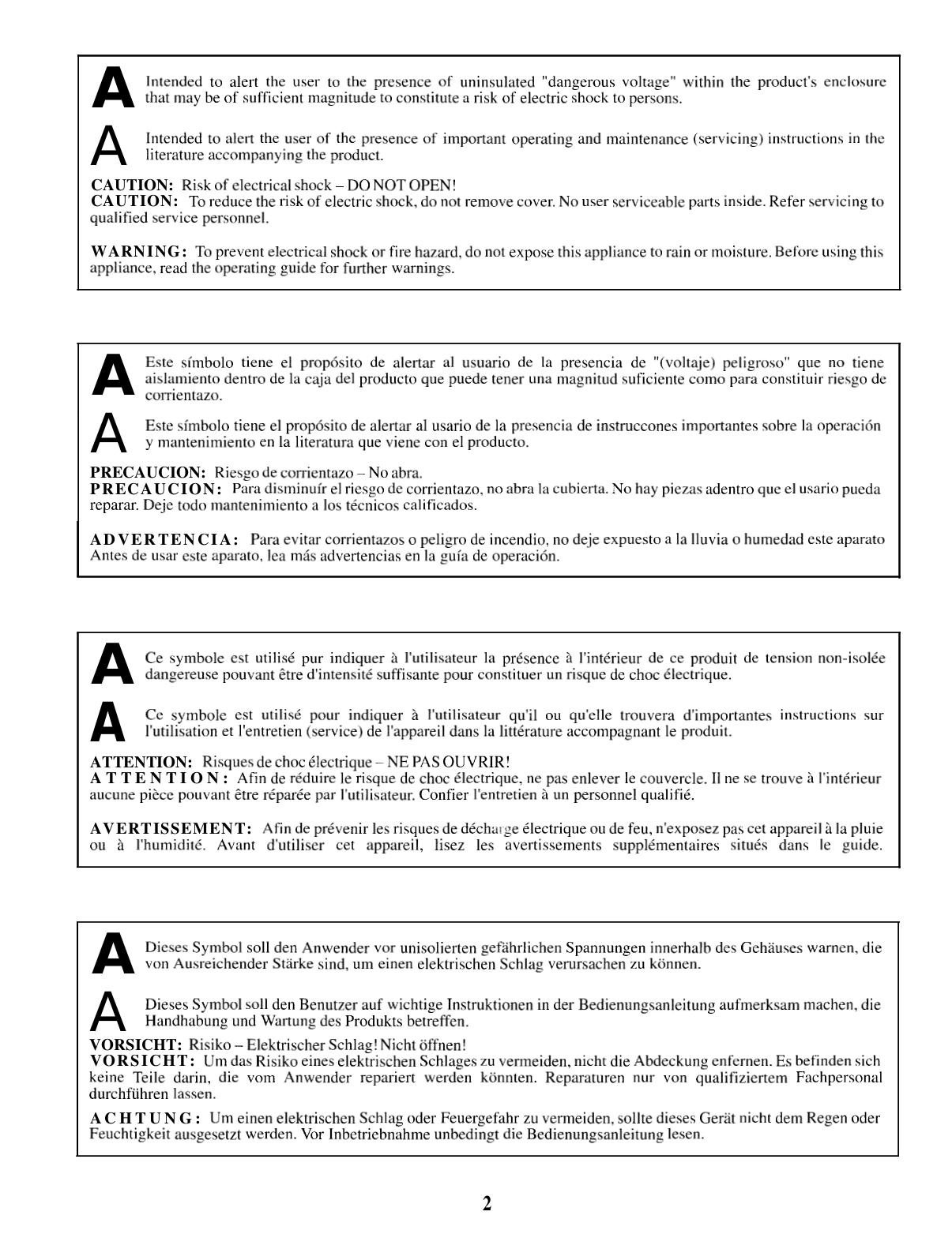 PDF manual for Peavey Amp Rage 158