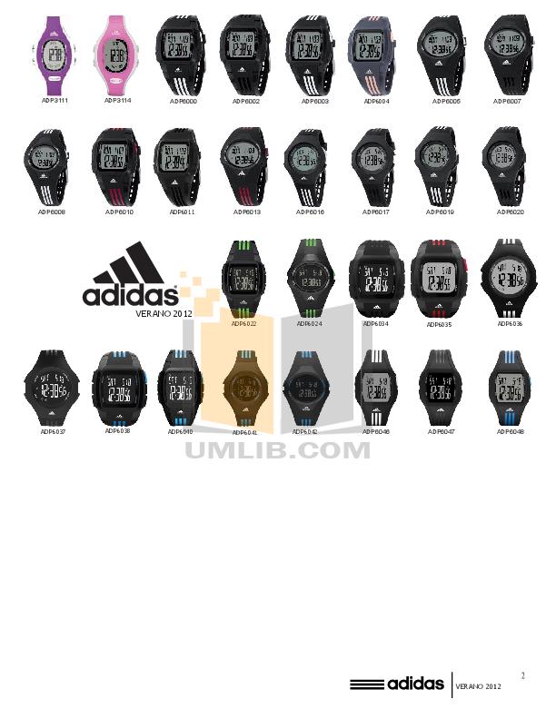 Adidas adp6007 manual.