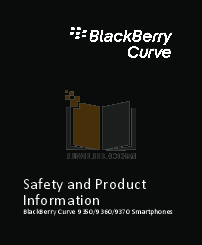 pdf for Blackberry Cell Phone Curve 9370 manual