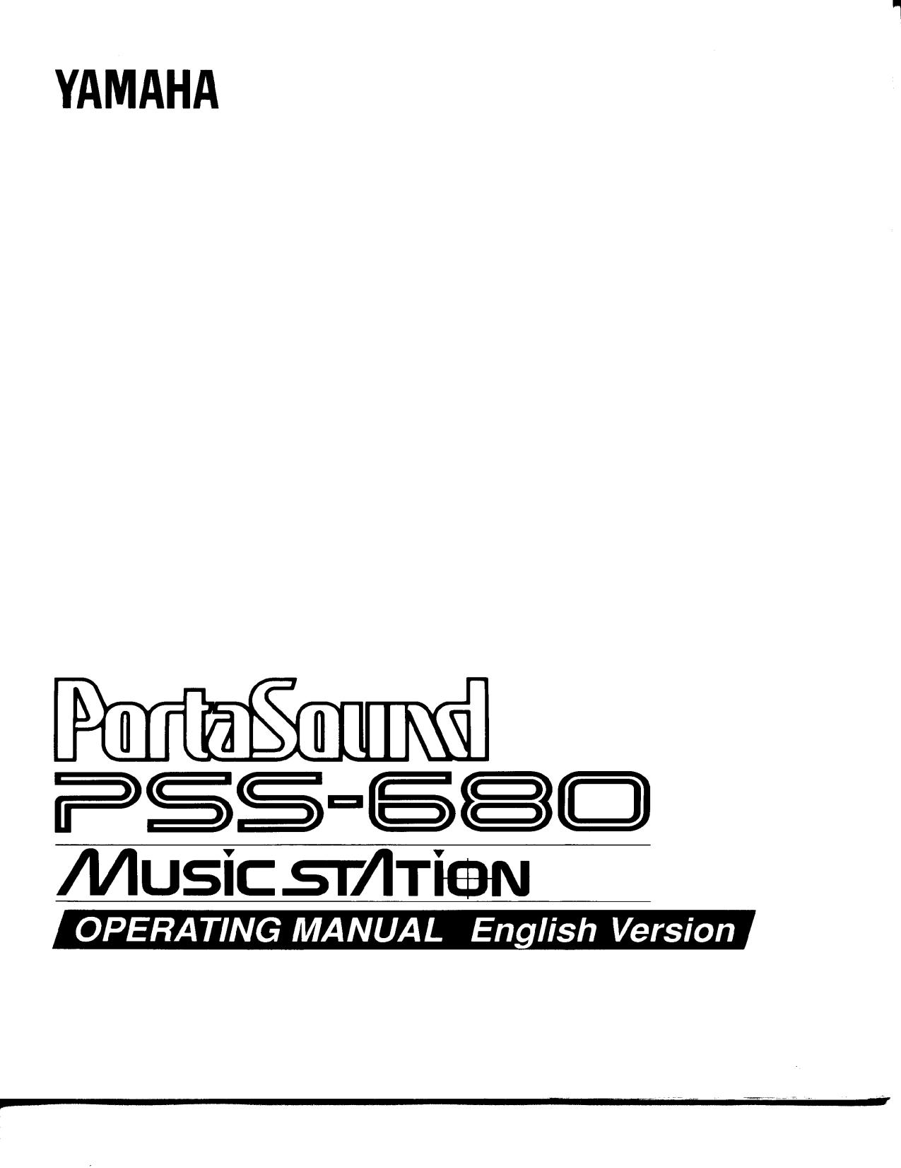 pdf for Yamaha Music Keyboard B-4C manual