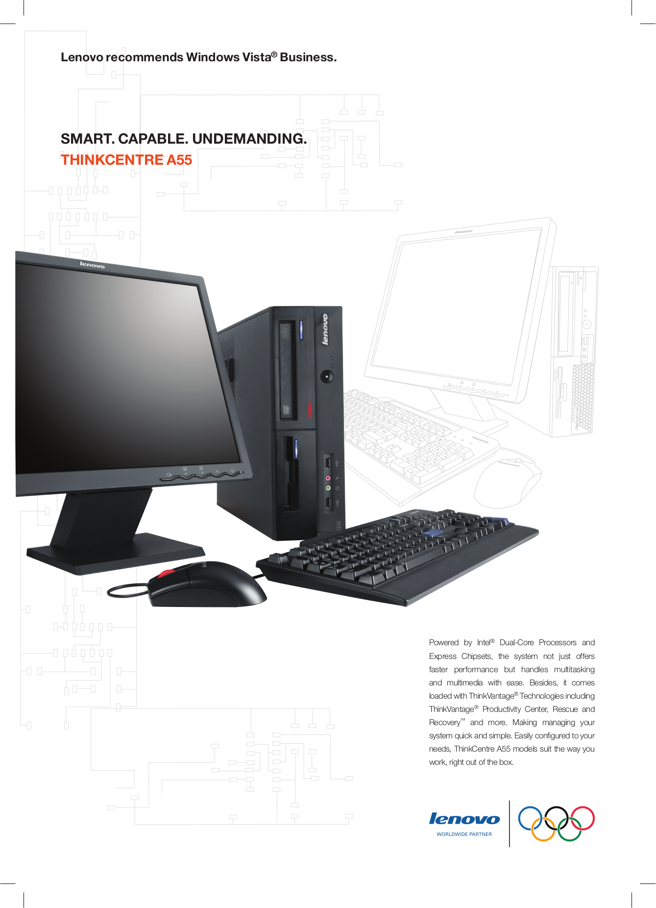 pdf for Lenovo Desktop ThinkCentre A55 9638 manual