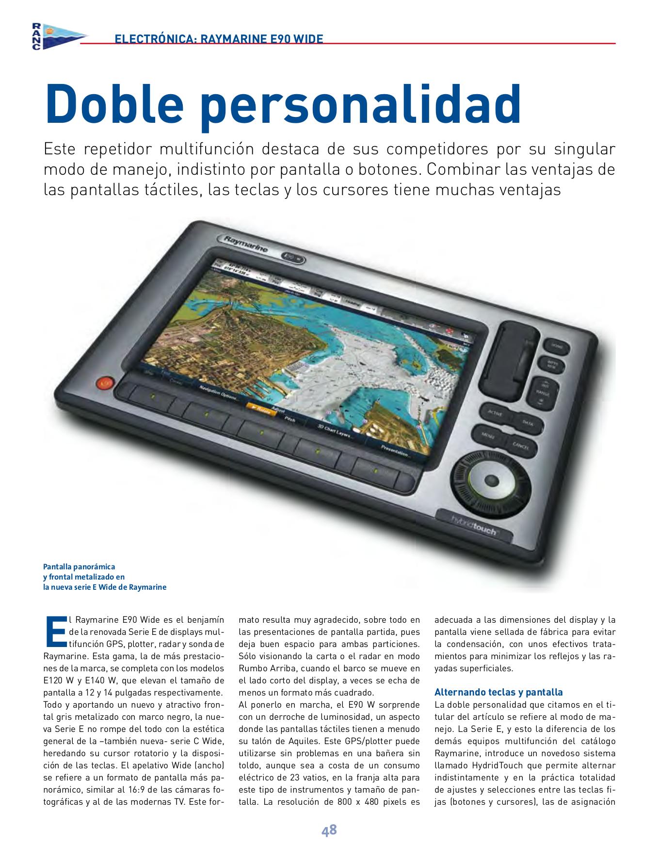 download free pdf for raymarine e90w gps manual rh umlib com Raymarine Pod Mount Sonar Screen