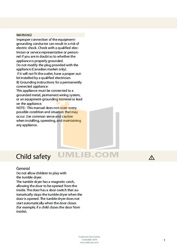 pdf manual for asko dryer t712c rh umlib com Asko Dryer Door Seal Asko T731 Dryer
