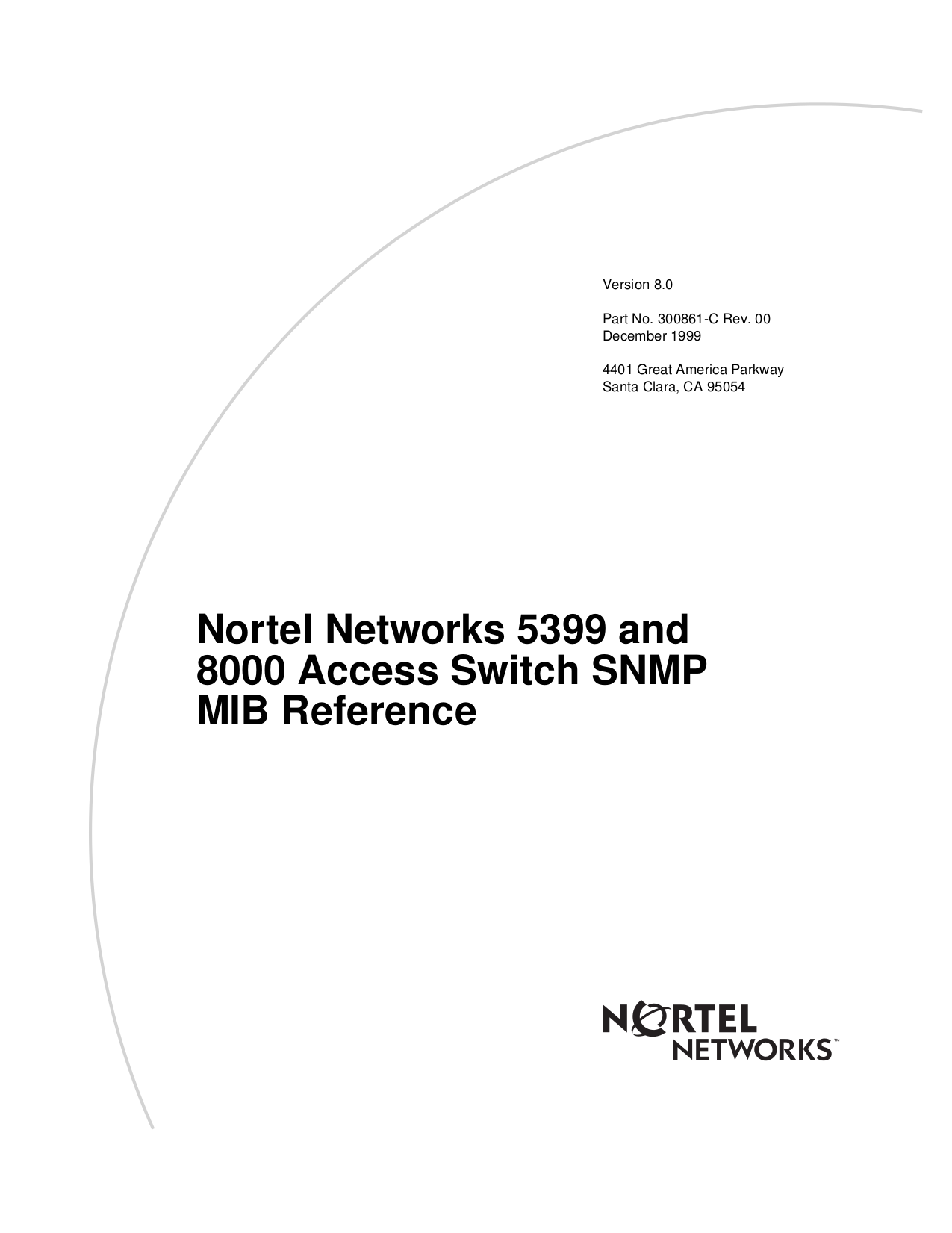 pdf for Nortel Switch 5399 manual