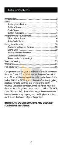 Audiovox Car Receiver CD-1213 pdf page preview