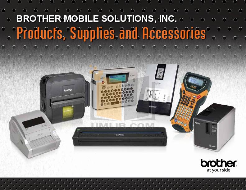pdf for Brother Printer MW-145BT manual