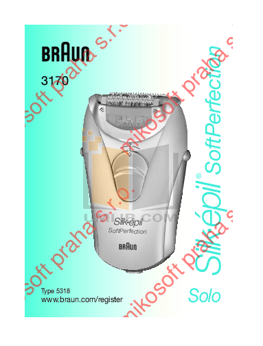 pdf for Braun Other Silk-epil SoftPerfection 3240 Epilators manual