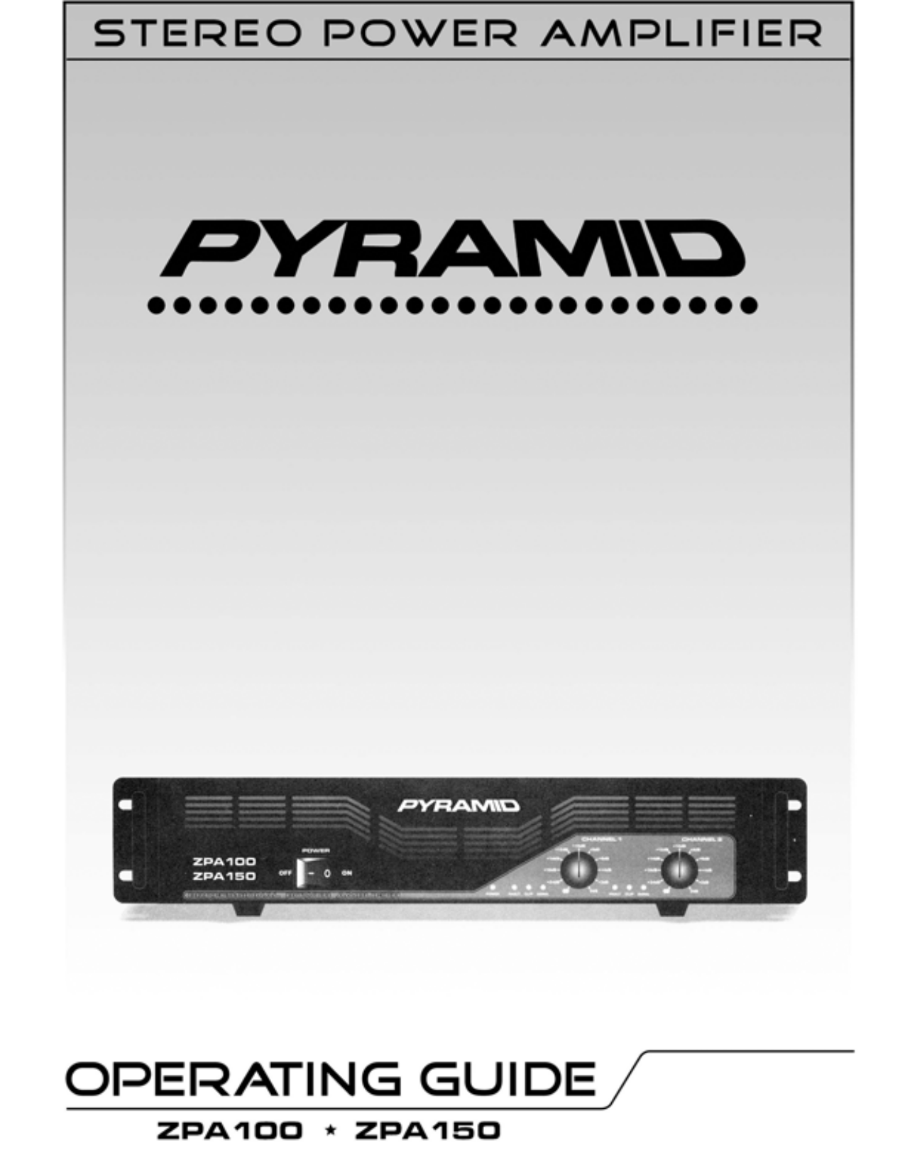 download free pdf for pyramid zpa100 car amplifier manual rh umlib com Pyramid Speakers Pyramid Pro 800 Watt Car Amplifiers
