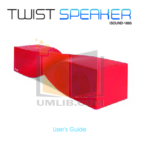 pdf for Dreamgear Speaker System iSound Harmony manual