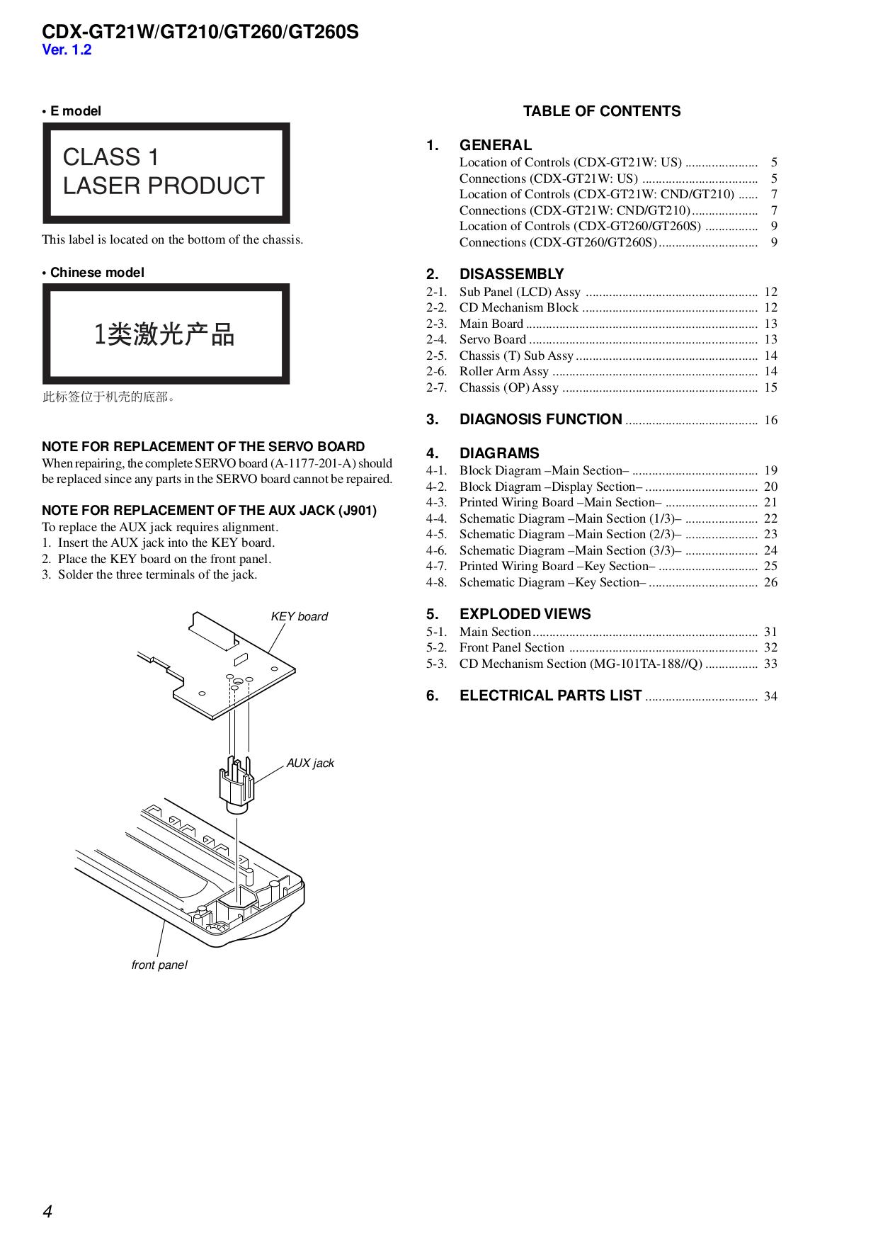 pdf manual for sony car receiver cdx gt21w  sony car receiver cdx gt21w pdf page preview