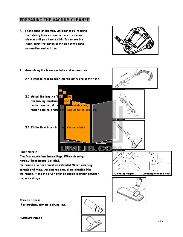 PDF manual for Atrix Vacuum Express Safety Vacuum