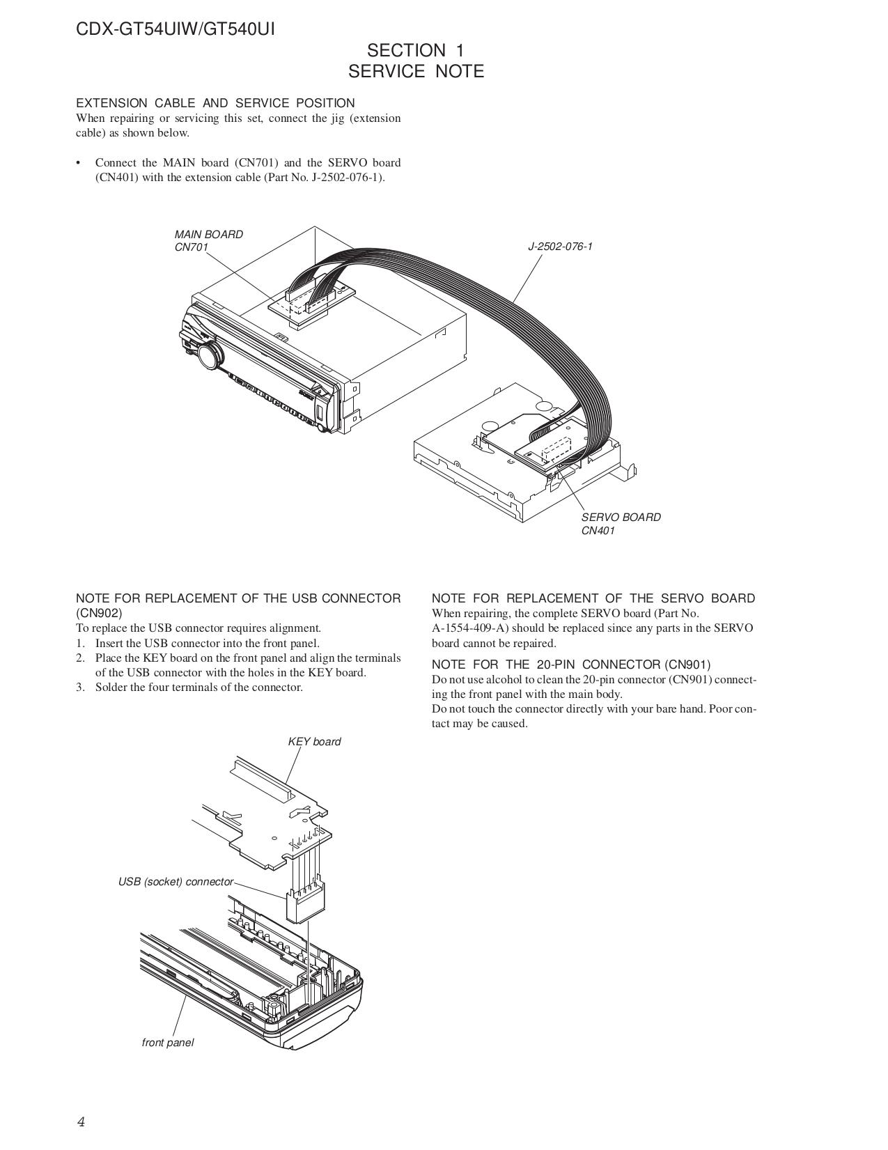Ausgezeichnet Cdx Gt540ui Schaltplan Ideen - Der Schaltplan - greigo.com