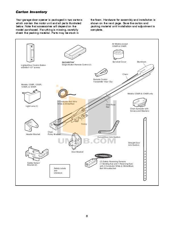 Liftmaster garage door opener manual pdf