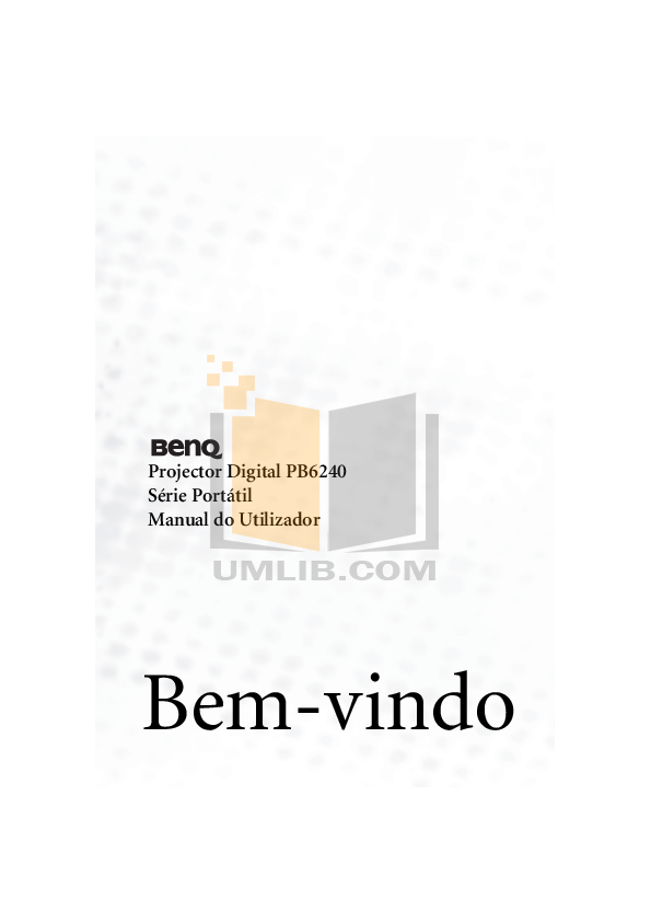 pdf for Benq Projector PB6240 manual