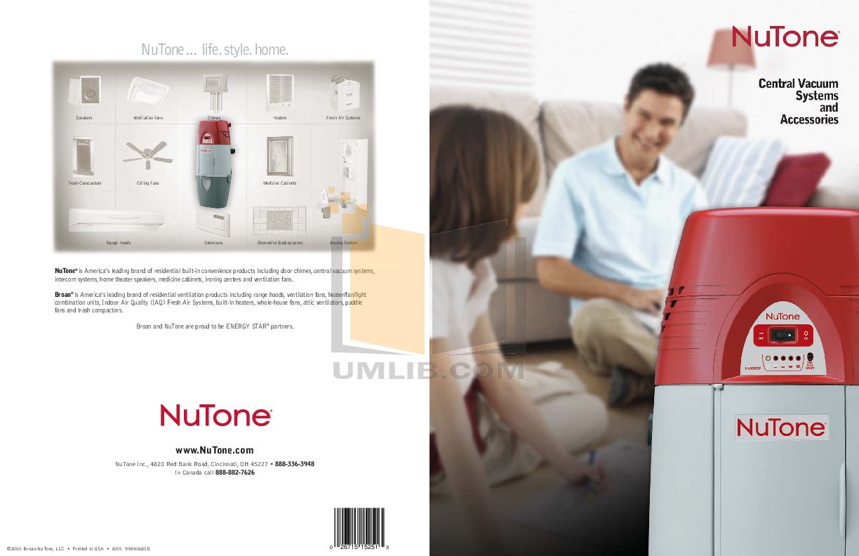 pdf for Broan-NuTone Other GSFH1K Air Purifiers manual