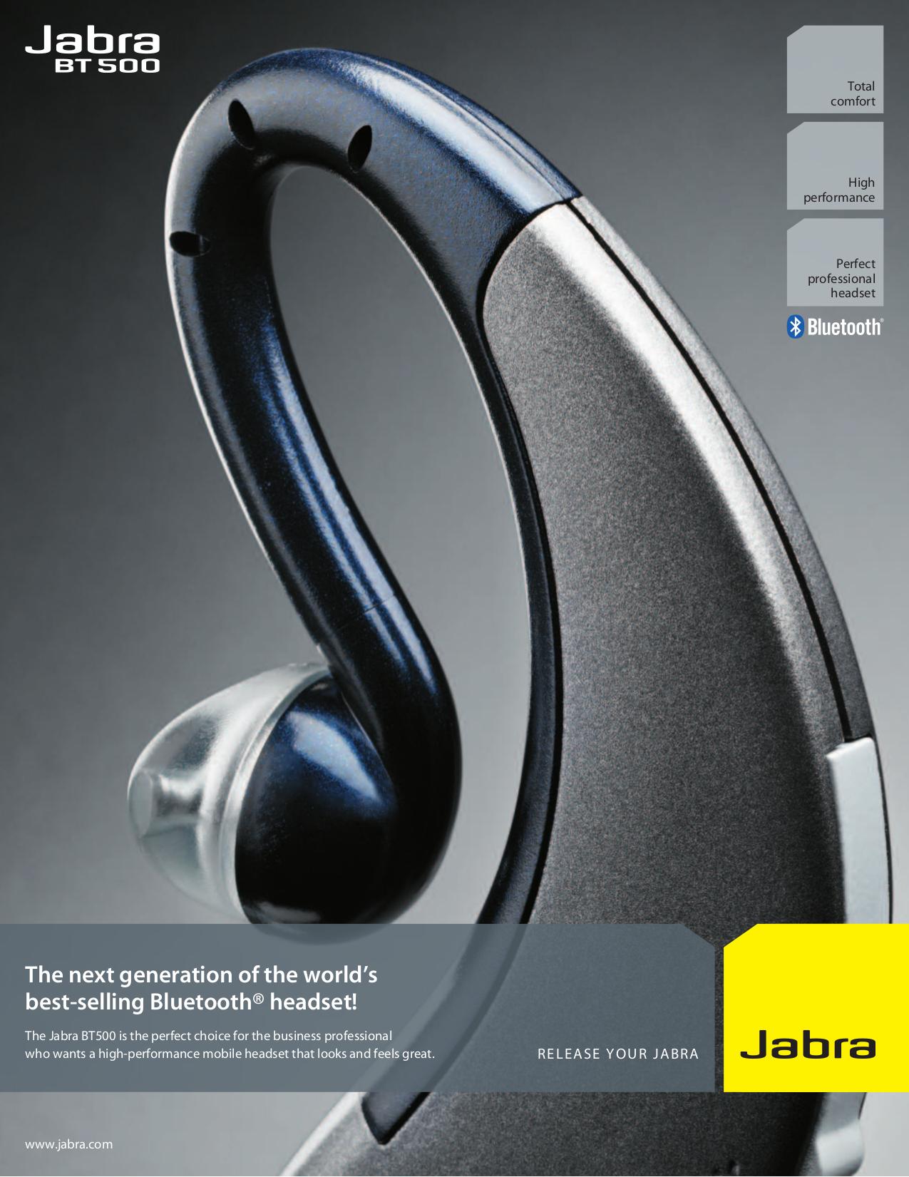 download free pdf for jabra bt500 headset manual rh umlib com Jabra User Manual Jabra Owner's Manual