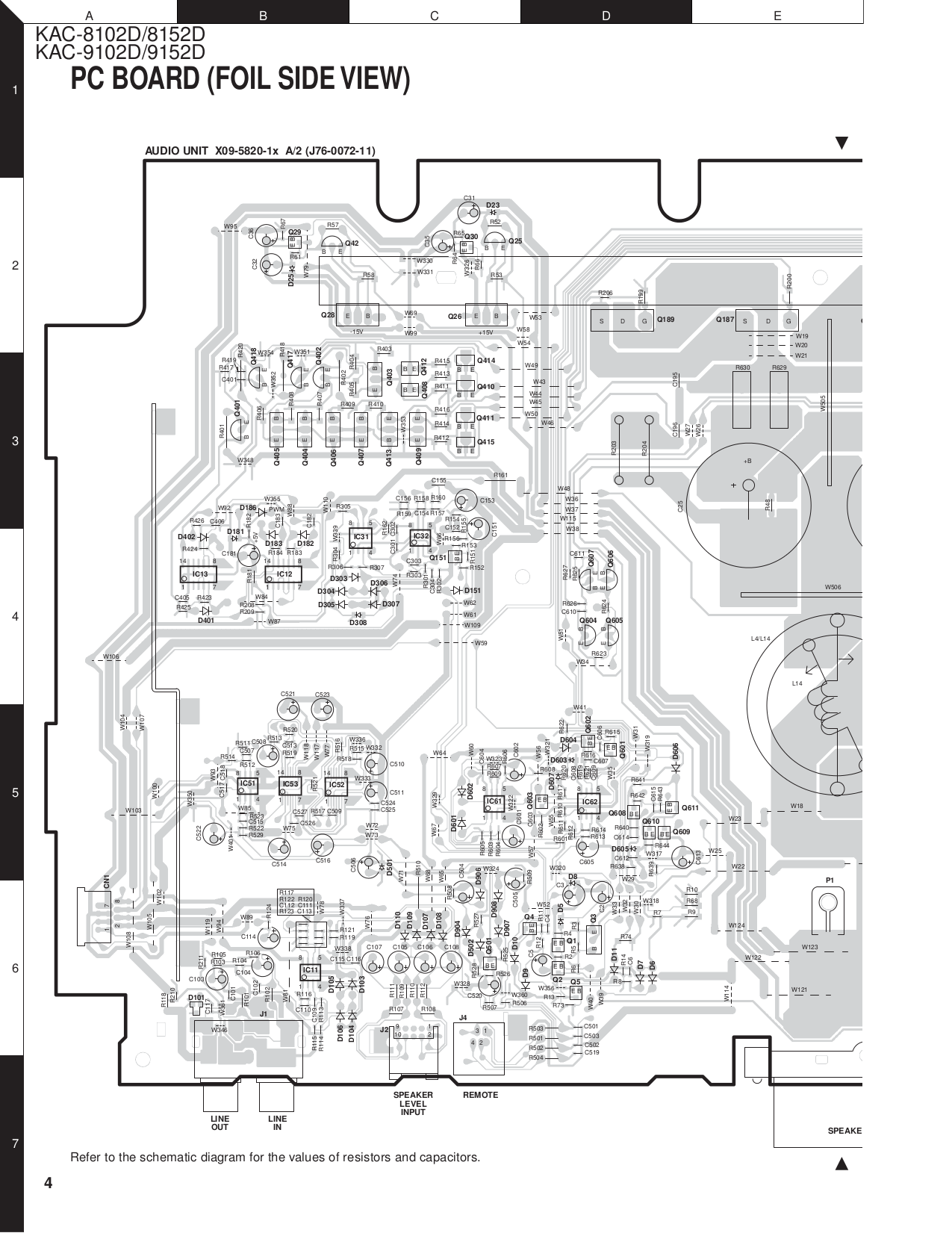 ... Kenwood Amp KAC-622 pdf page preview ...