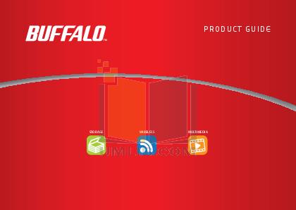 pdf for Buffalo Storage HD-AV1.0TU2 manual