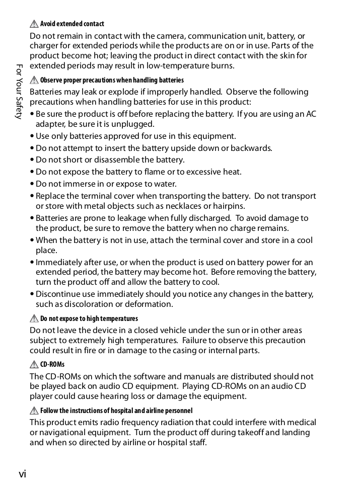 Nikon Other WT-2A Camera Wireless Transmitter pdf page preview