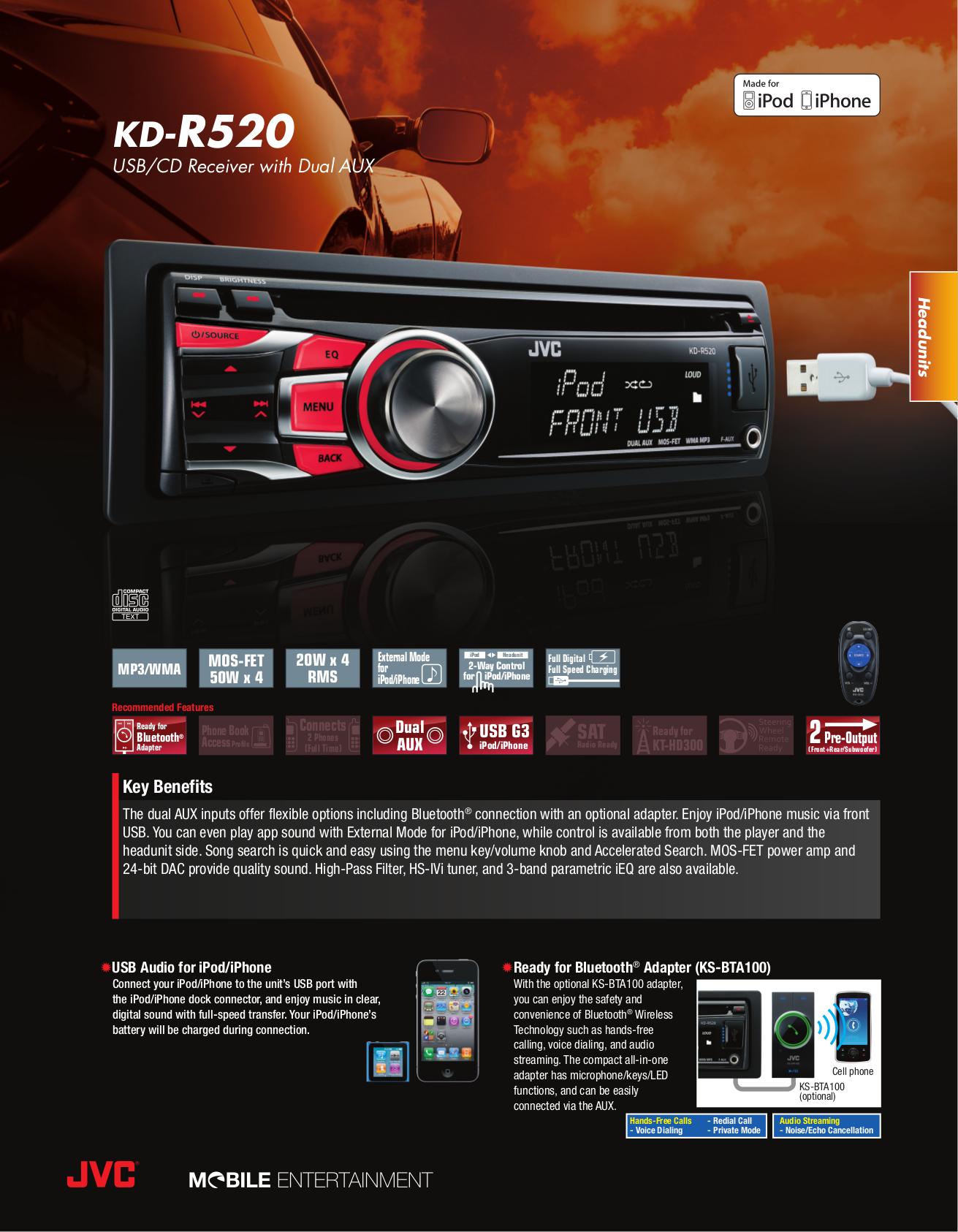 download free pdf for jvc kd r520 car receiver manual rh umlib com jvc kd-r520 manual pdf jvc kdr540 manual