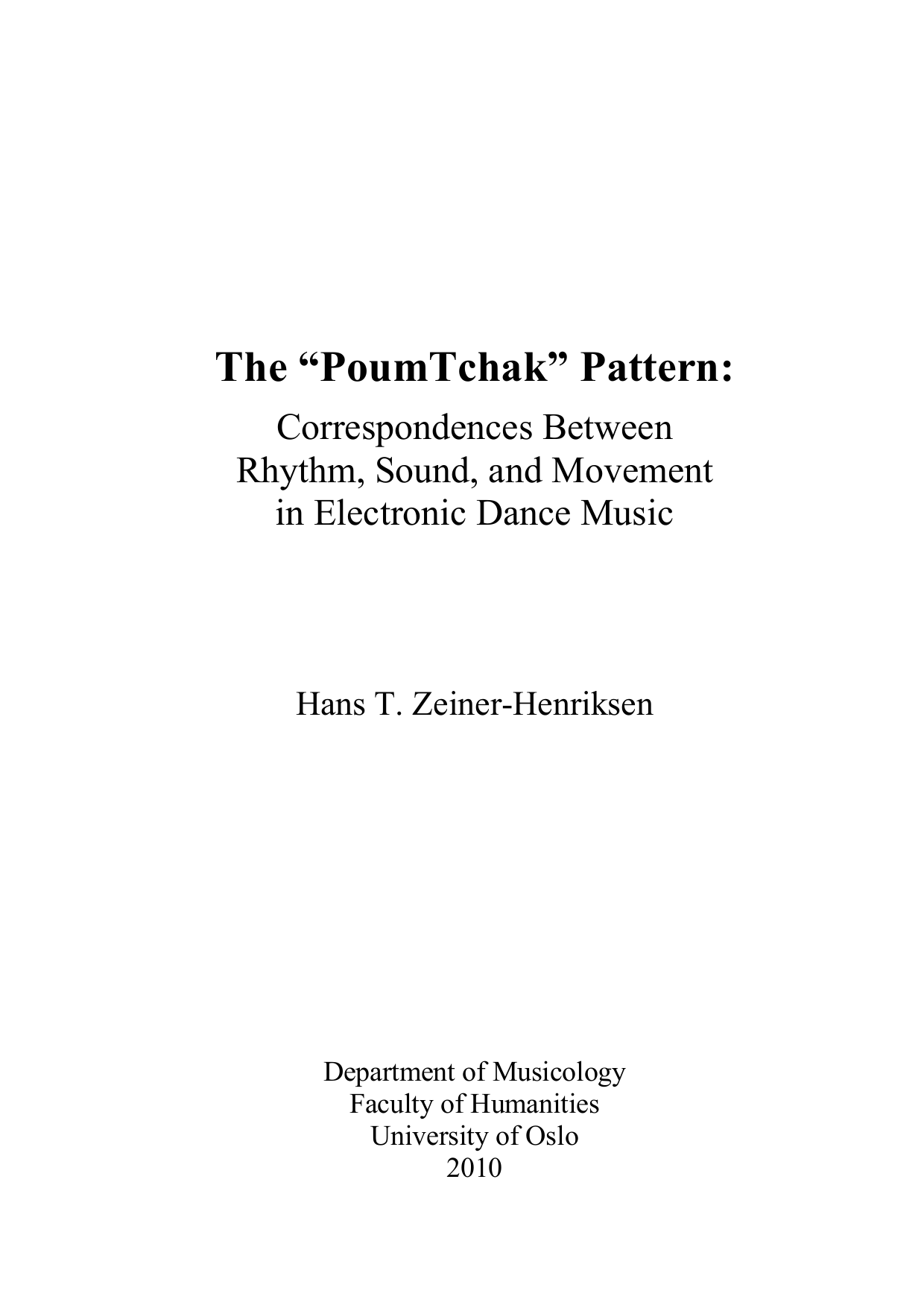 Dance Music Manual Pdf