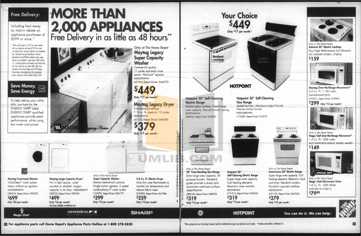 pdf for Hotpoint Range RB757BHWH manual