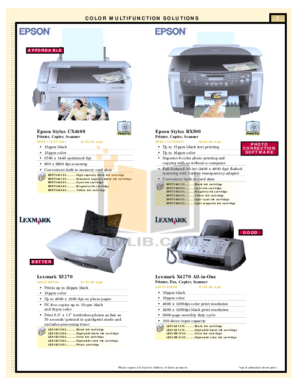 Brother Fax Machine IntelliFAX 700 pdf page preview