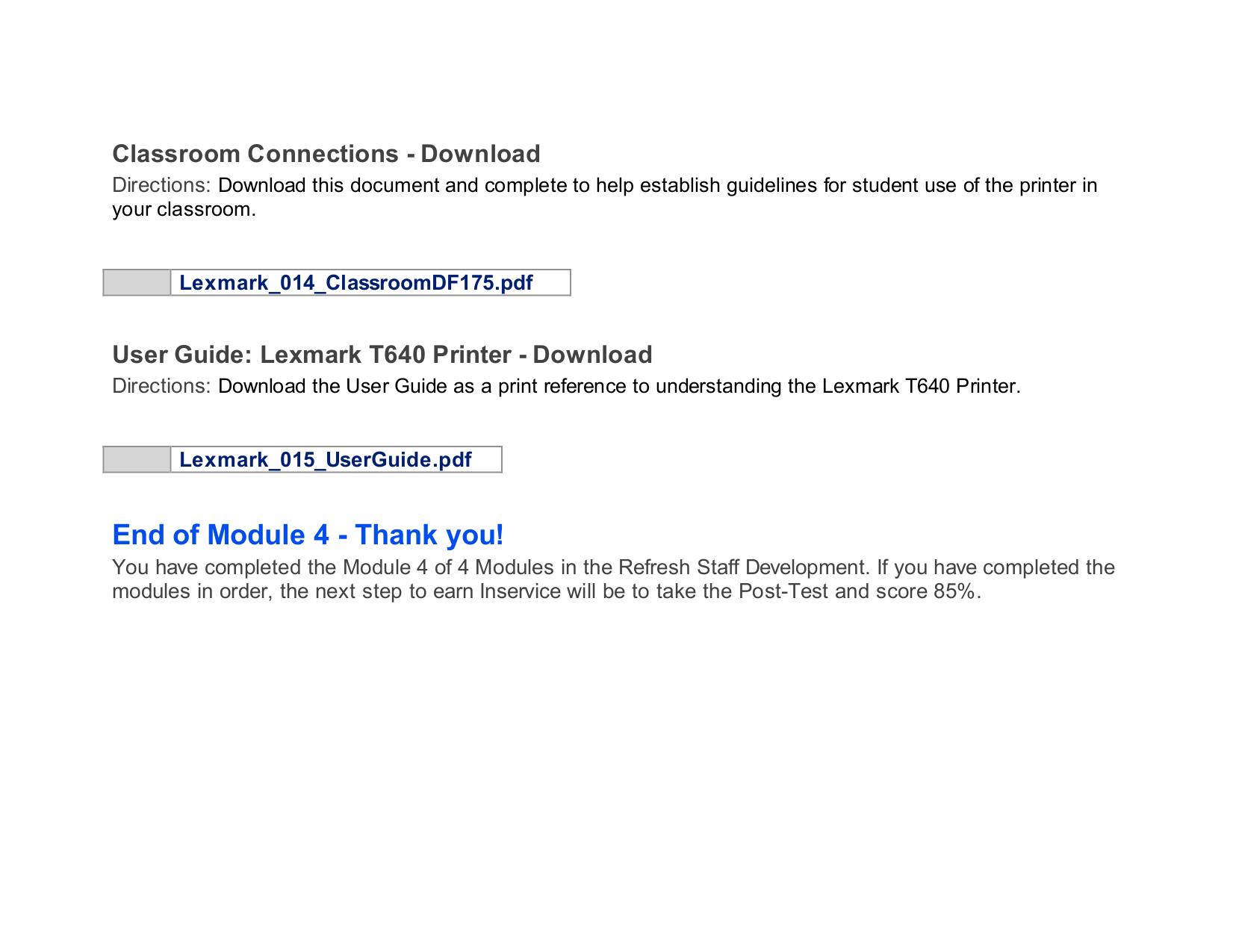 ... Array - pdf manual for lexmark printer t640 rh umlib com