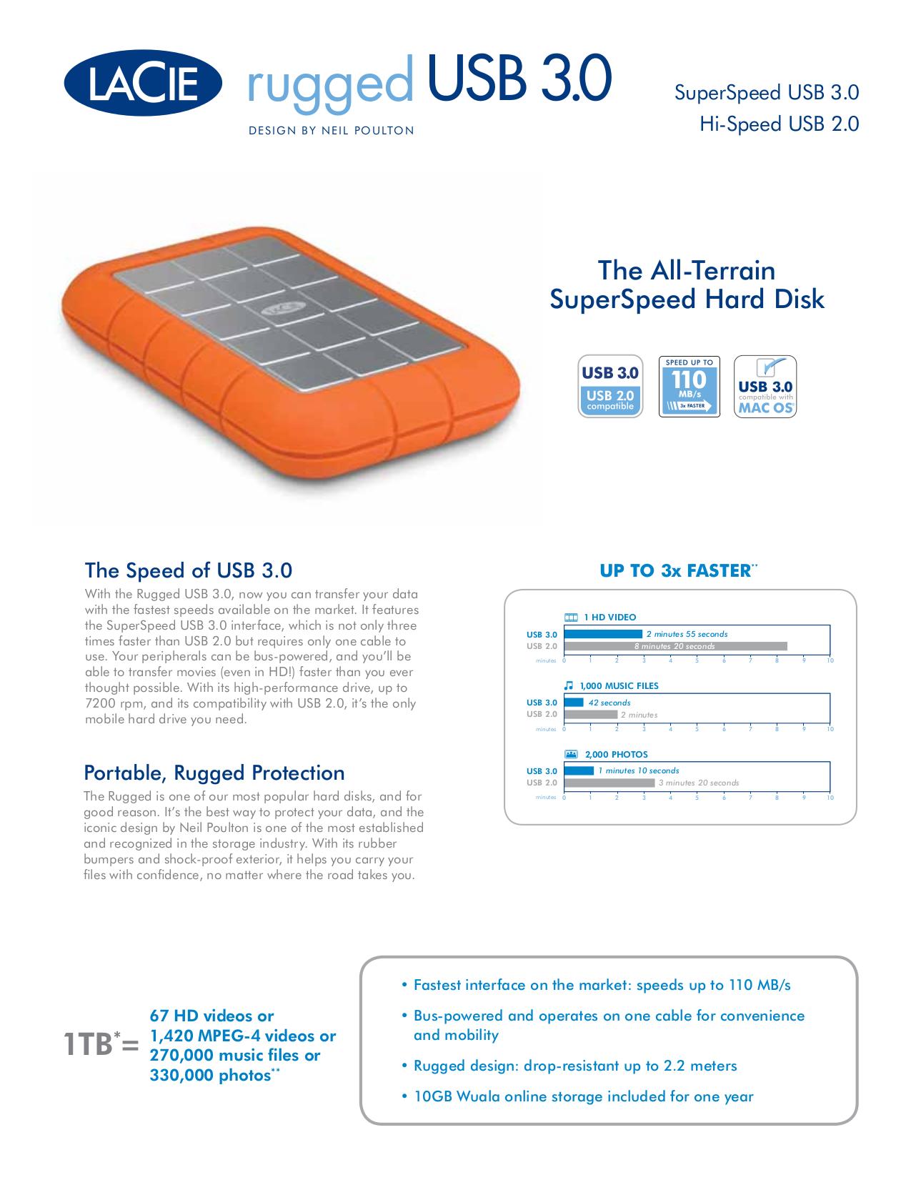 pdf for LaCie Storage 301934 manual
