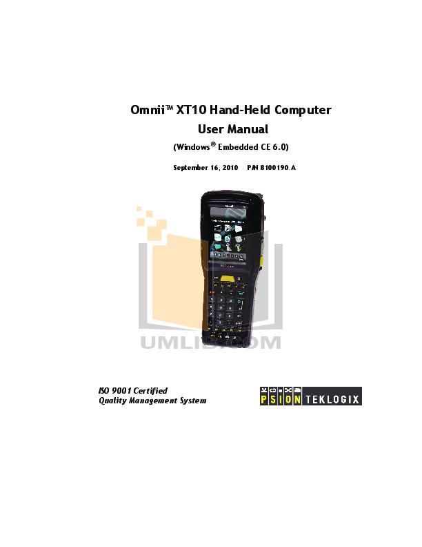 pdf for Franklin PDA RF-6090 manual