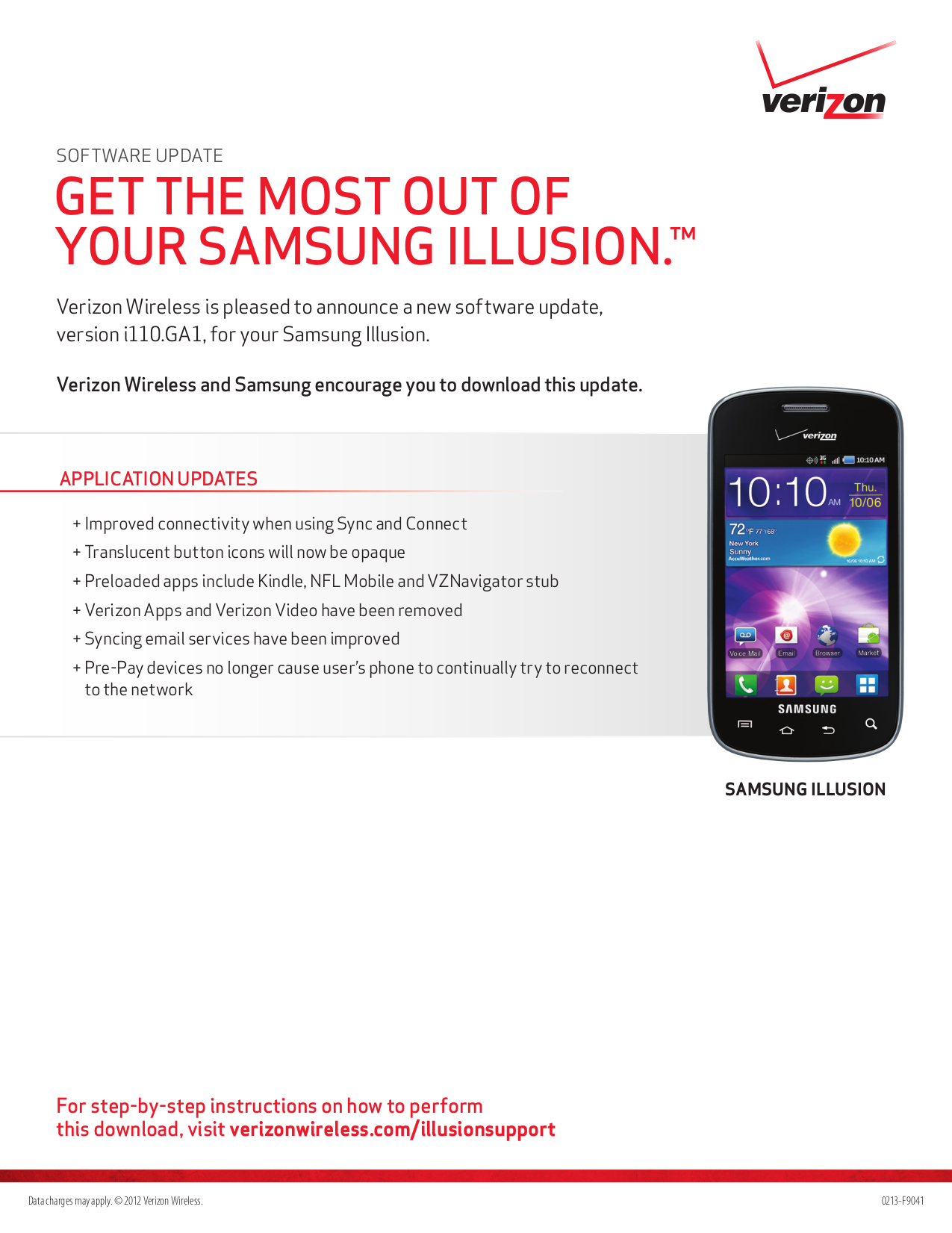 pdf for Samsung Cell Phone Illusion manual