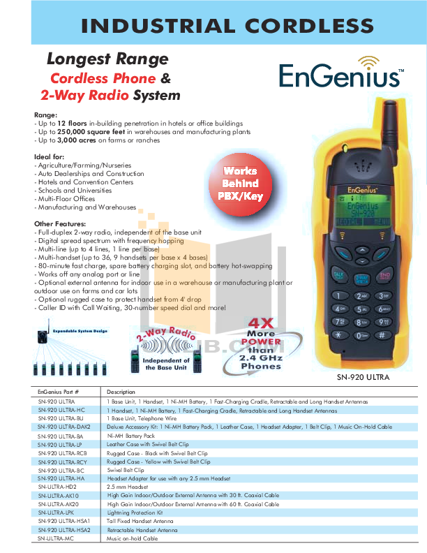 pdf for EnGenius Other Lightning Protection Lightning Protection Kit manual