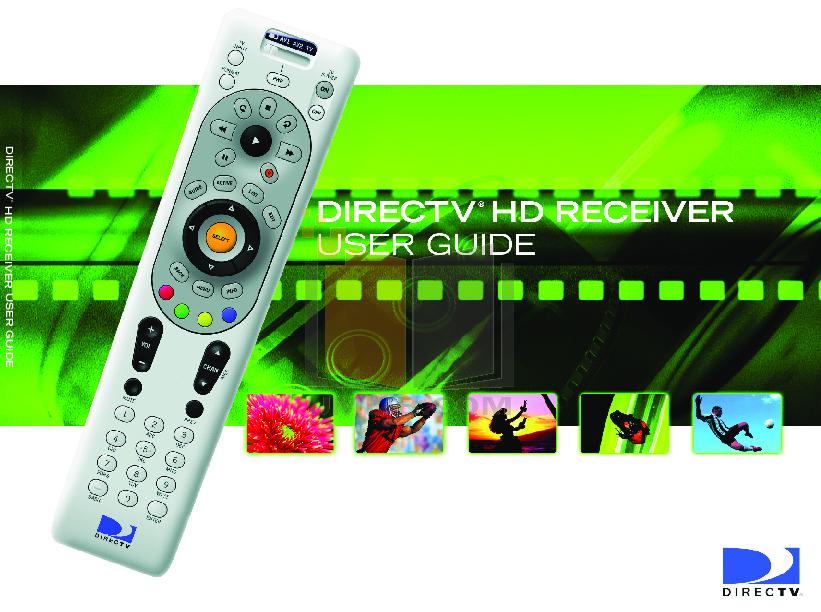 pdf for DirecTV DVR R10 manual