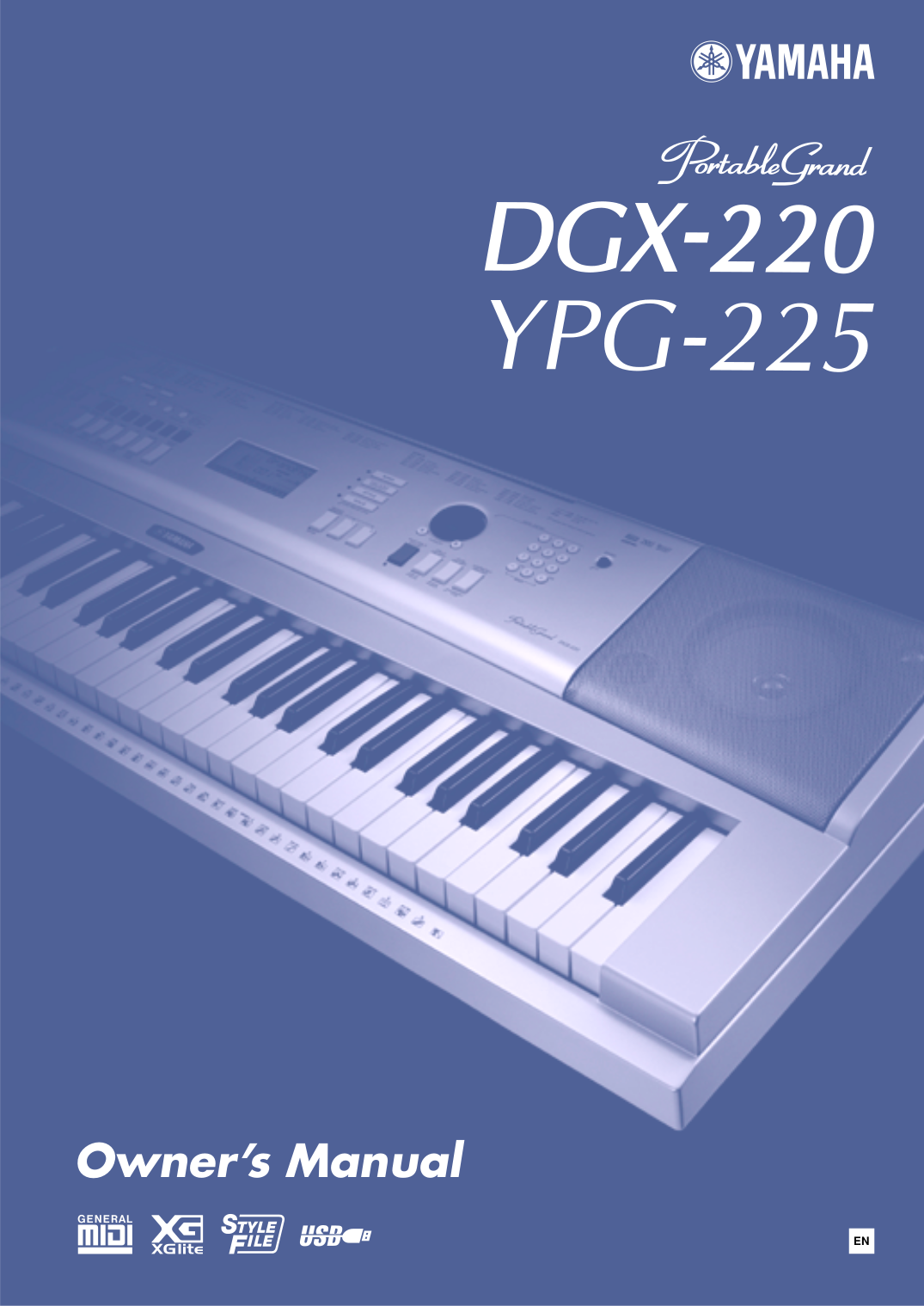 Yamaha dgx-230 ypg-235 keyboard service manual and repair guide.