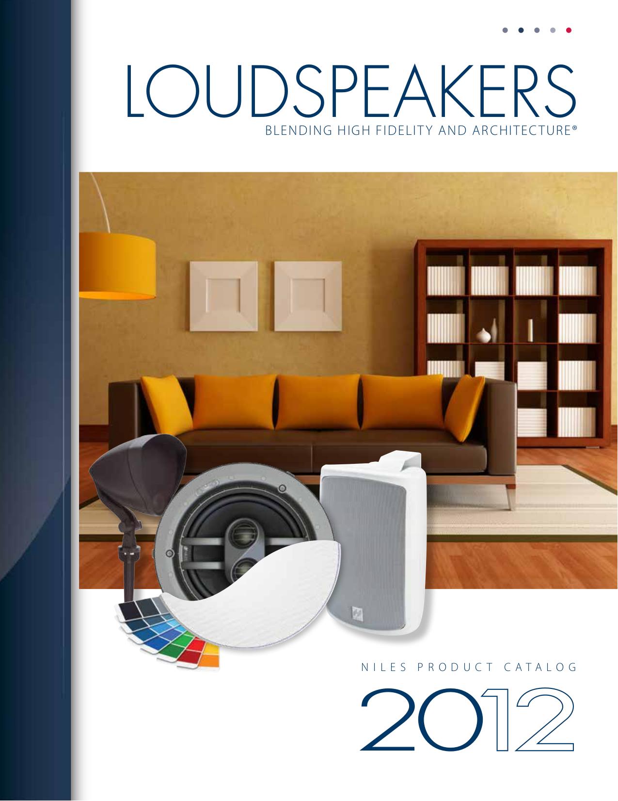 pdf for Niles Speaker RS6Si manual