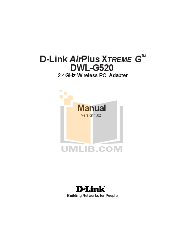 pdf for D-link Other DWL-900AP manual