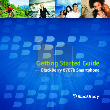 pdf for Blackberry PDA 8707h manual