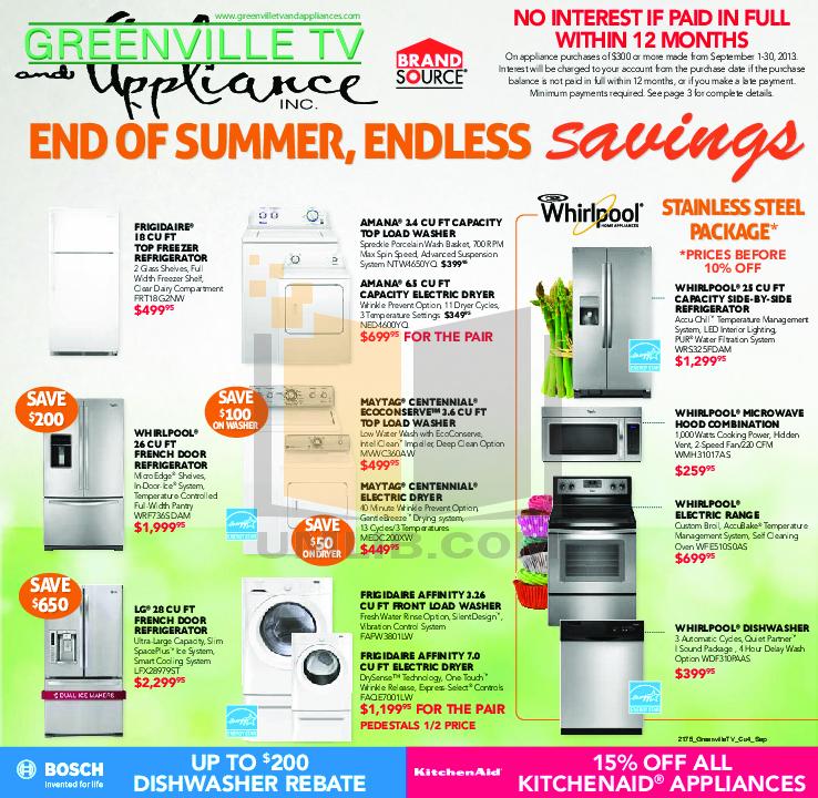 pdf for Frigidaire Refrigerator Gallery FGHB2844LF manual