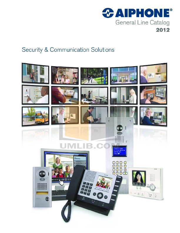 pdf for Aiphone Other PG-100C Intercoms-Accessory manual